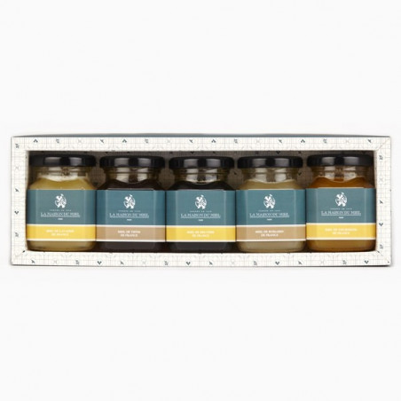 "Coffret ""Miels de France"" 5*125g"