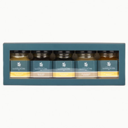 "Coffret "" Miels de France"" 5*125g"