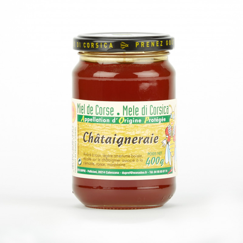 Miel de Châtaigneraie Corse (400g)