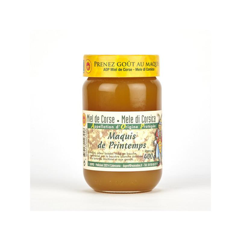Miel de Maquis du Printemps Corse (400g)