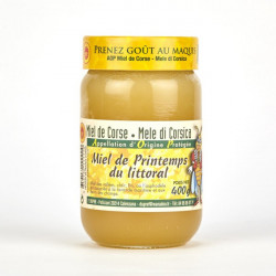 Miel de Printemps du Littoral Corse