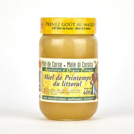 Miel de Printemps du Littoral Corse (400g)