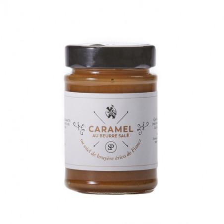 Caramel au beurre salé au miel de Bruyère Erica de France (220g)