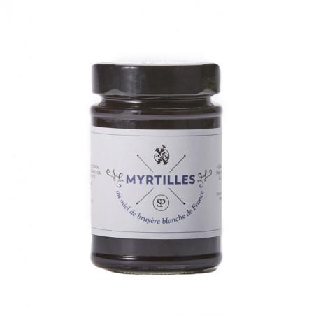 Myrtilles sauvages au miel de Bruyère Blanche de France (220g)