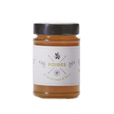 Poires au miel de Sauge de Grèce (220g)