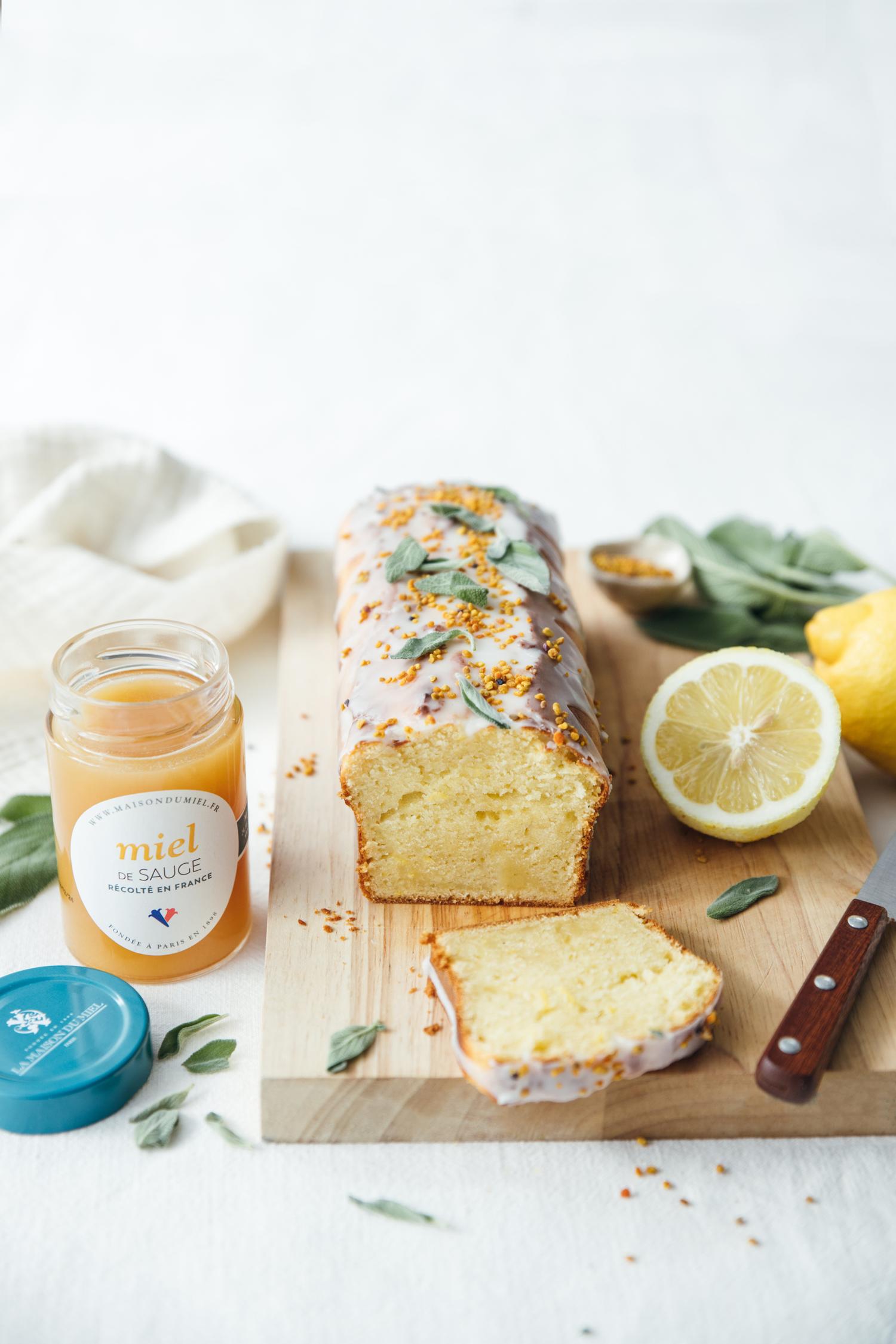 cake au miel de sauge / La Maison du Miel