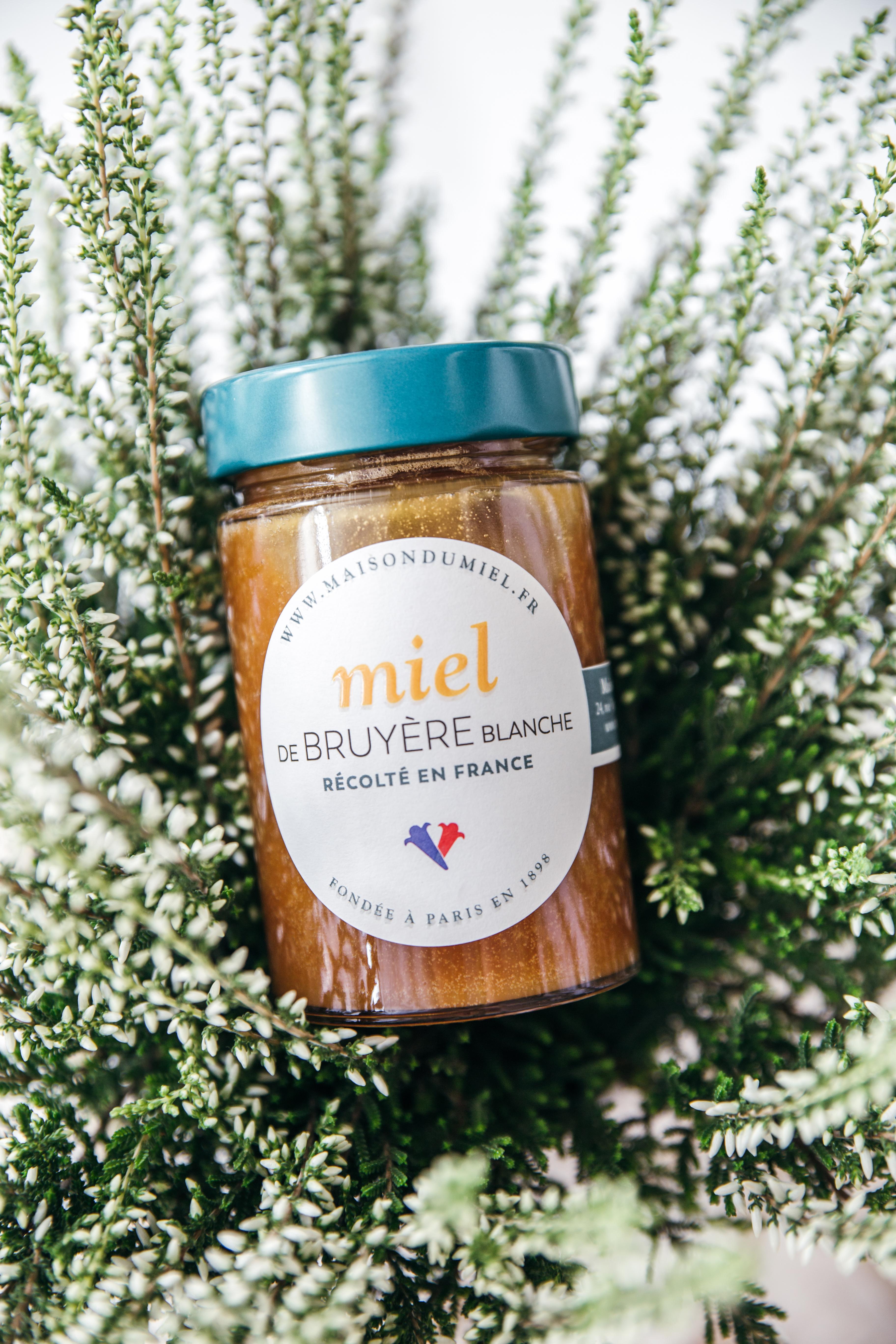Miel de Bruyère Blanche Origine  France   La  Maison du Miel