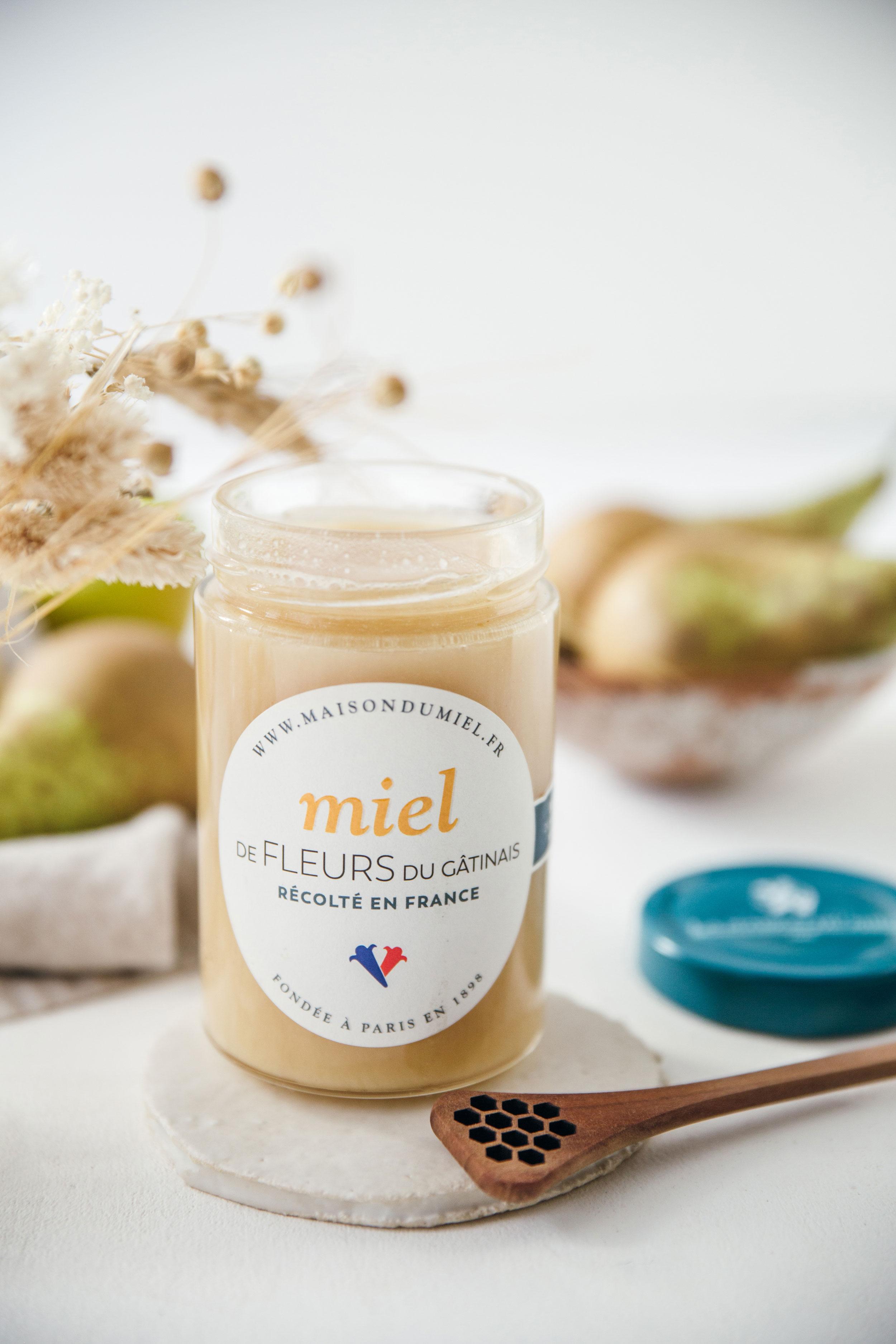 Miel de Fleurs du Gâtinais Origine France   La Maison du Miel