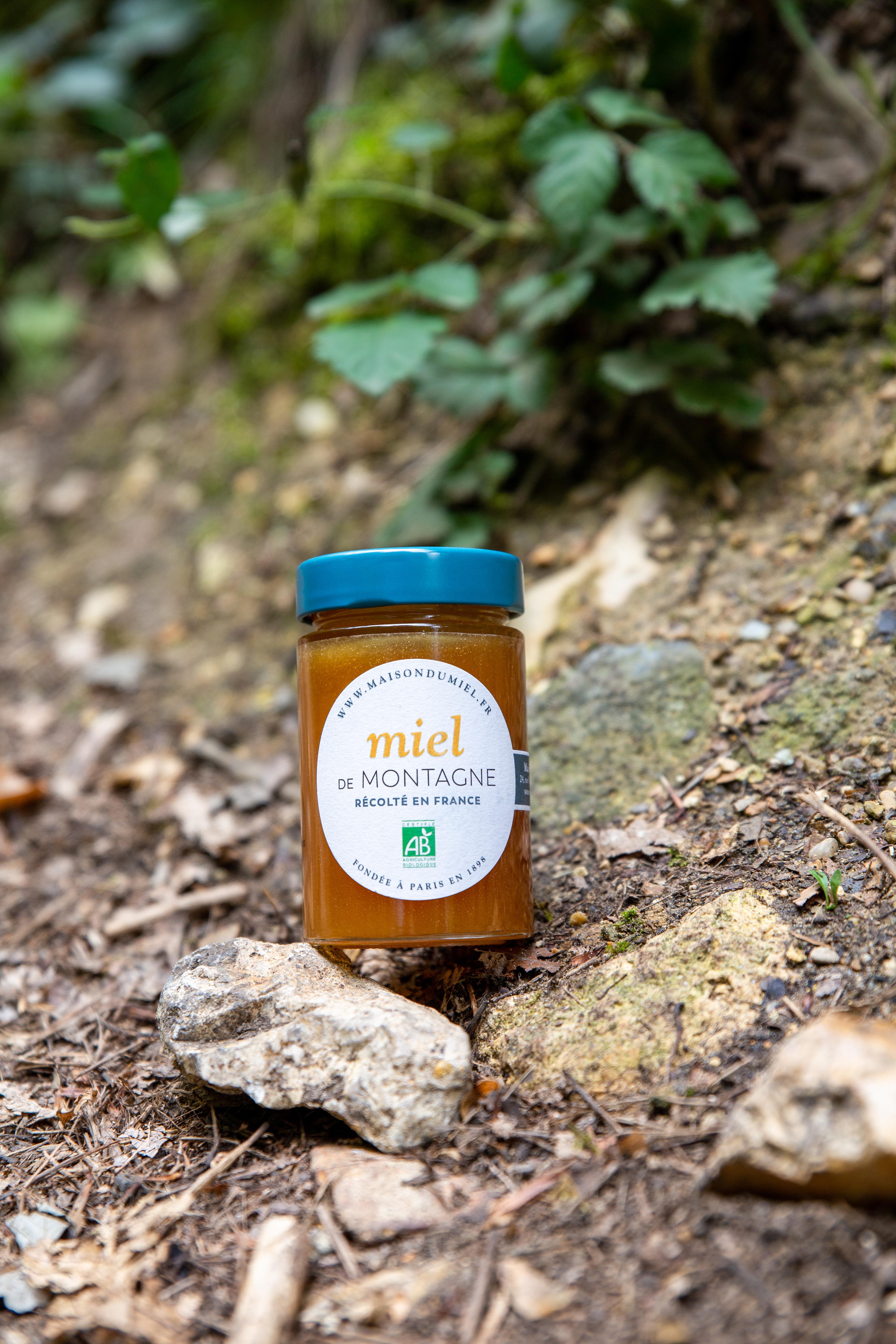 Miel de Montagne Origine France BIO | La Maison du Miel