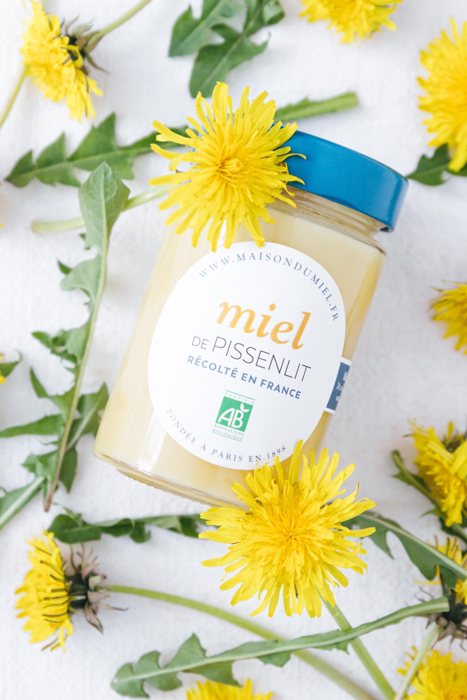 Miel de Pissenlit Origine France BIO   La Maison du Miel